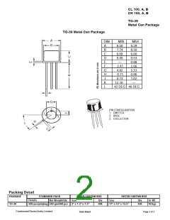 浏览型号CL100B的Datasheet PDF文件第2页