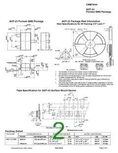 浏览型号CMBTA44的Datasheet PDF文件第2页