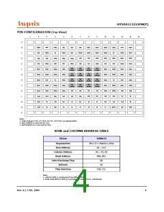 浏览型号HY5DS113222FM-28的Datasheet PDF文件第4页