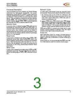 浏览型号IC41C82052-50J的Datasheet PDF文件第3页