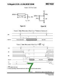 浏览型号89C1632RPQE-20的Datasheet PDF文件第7页