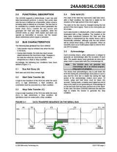 浏览型号24LC08BT-I/SN的Datasheet PDF文件第5页