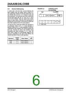 浏览型号24LC08BT-I/SN的Datasheet PDF文件第6页