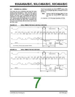 浏览型号93LC46CXT-I/STG的Datasheet PDF文件第7页