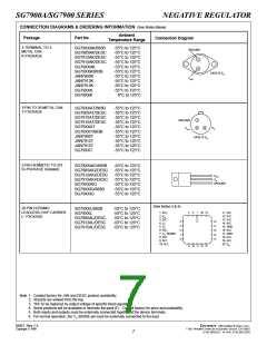 浏览型号SG7905AIG/883B的Datasheet PDF文件第7页
