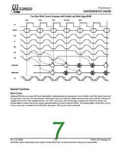 浏览型号GS8330DW72C-250的Datasheet PDF文件第7页