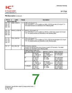 浏览型号IP178A的Datasheet PDF文件第7页