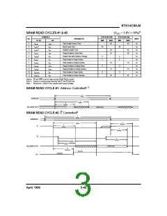 浏览型号STK14C88-5K35M的Datasheet PDF文件第3页