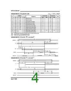 浏览型号STK14C88-5K35M的Datasheet PDF文件第4页