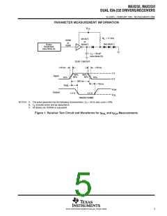 浏览型号MAX232的Datasheet PDF文件第5页