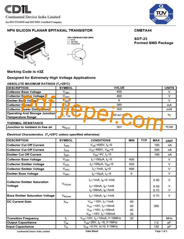 CMBTA44 PDF预览