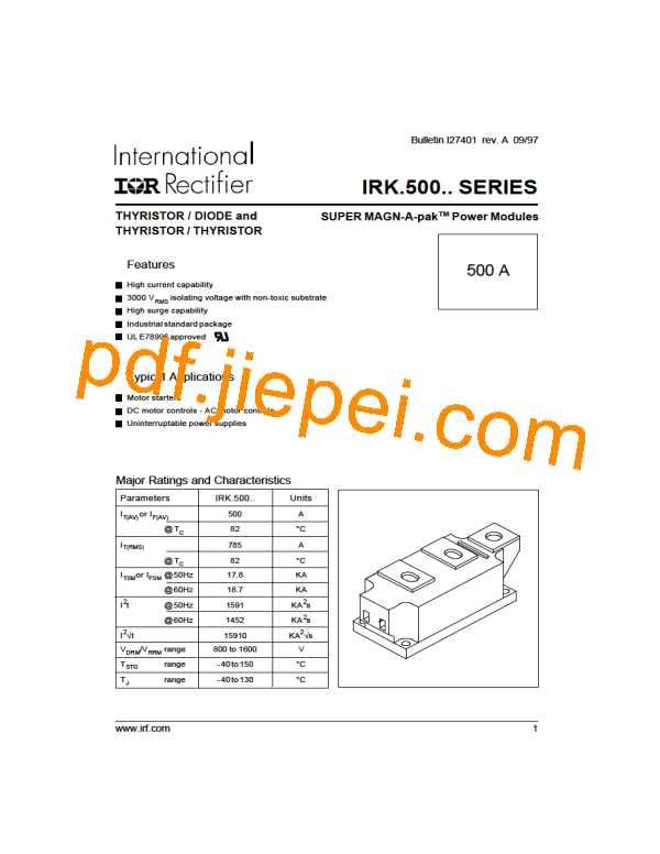 IRKT500-12 PDF预览