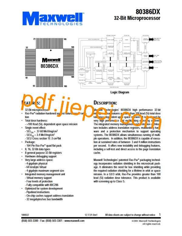 80386DX PDF预览