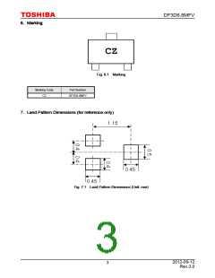 浏览型号DF3D6.8MFV(TL3,T)的Datasheet PDF文件第3页