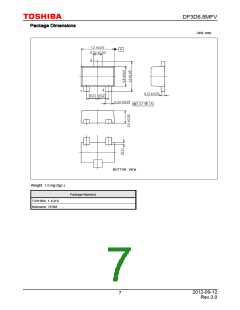 浏览型号DF3D6.8MFV(TL3,T)的Datasheet PDF文件第7页