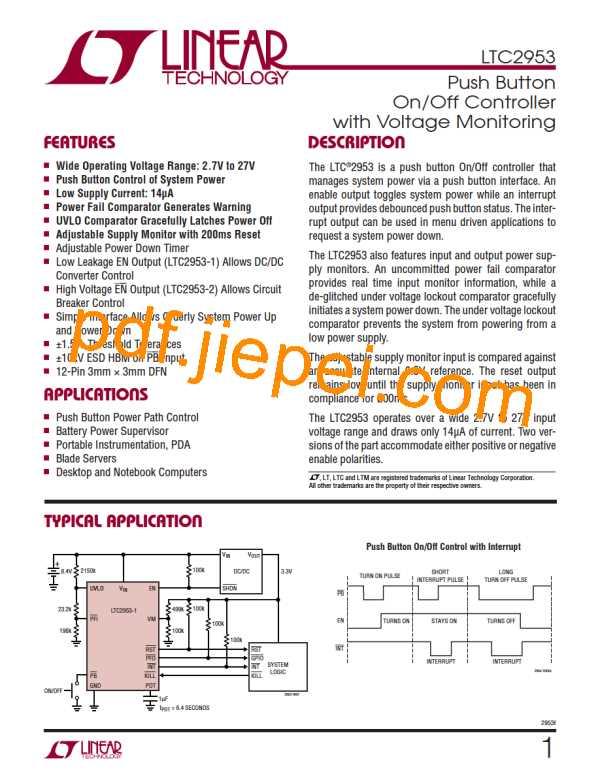 LTC2953IDD-1#PBF PDF预览