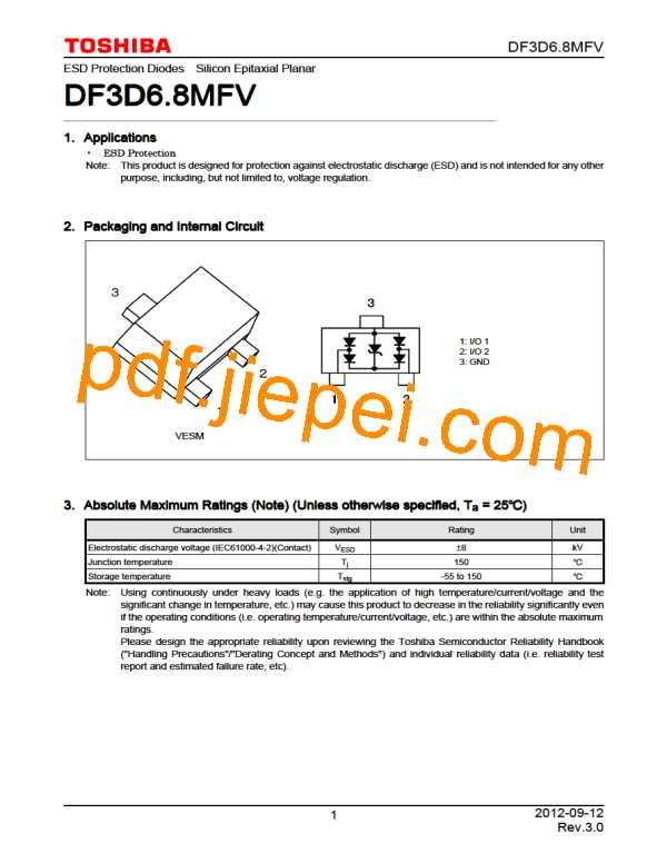 DF3D6.8MFV(TL3,T) PDF预览
